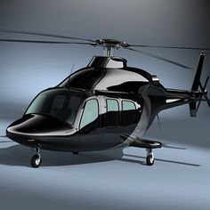 3D Executive Helicopter Model - 3D Model