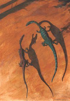 Dragons of the early Jurassic by tuomaskoivurinne.deviantart.com on @deviantART
