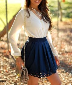 absolutely love the cute and classy look of this outfit