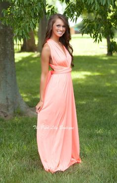 The Pink Lily Boutique - Chase After Me Neon Wrap Maxi Dress , $39.00 (http://thepinklilyboutique.com/chase-after-me-neon-wrap-maxi-dress/)
