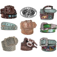 Designer Clothes, Shoes & Bags for Women Country Girl Style, Country Girls, My Style, Western Belts, Western Outfits, Scarf Jewelry, Jewlery, Fashion Belts, Fashion Accessories