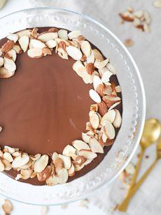 Glutenfri mazarinkaka med apelsin och choklad | Brinken bakar Fika, Macarons, Tart, Muffins, Deserts, Gluten Free, Bread, Chocolate, Baking