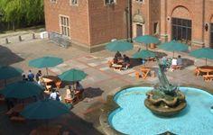 Mermaid Fountain.  Birmingham Uni