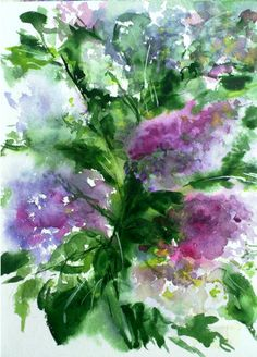 lilac - use it on the walls, or to decorate the walls!