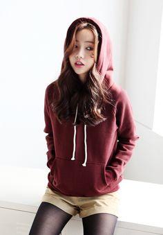 Loose hoodie