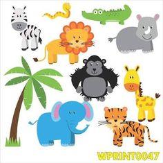 Resultado de imagem para animais da floresta