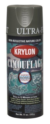 Krylon K04293000 Camouflage With Fusion For Plastic Paint Technology Aerosol Spray Paint  11-Ounce  Camouflage Olive: http://www.amazon.com/Krylon-K04293000-Camouflage-Technology-11-Ounce/dp/B00176UX26/?tag=greavidesto05-20