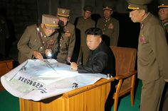 Kim Jong Un Guides Tactical Rocket Firing Drill of Units of KPA Strategic Force in Western Sector of Front