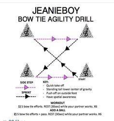 Jeanieboy agility drill
