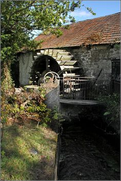 Watermill, Longdown, England.