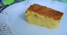 Ingredientes     600 g milho cozido (fresco ou em lata)  200 g leite de coco  200 g leite  230 g açúcar  4 ovos  40 g manteiga, mais q....