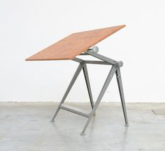Industial Drafting Table by Friso Kramer and Wim Rietveld for Ahrend De Cirkel