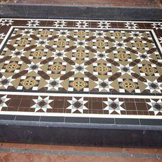 London Mosaic - Decorative Victorian Step Tiles