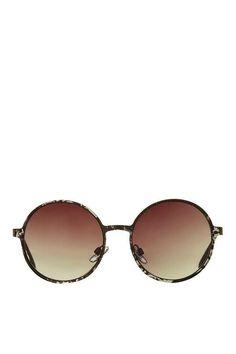 Slim Metal Preppy Sunglasses