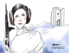 Carrie Fisher RIP | By Rayma Suprani