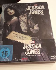 Marvel's Jessica Jones - Staffel 1 (Steelbook) [Blu-ray] NEU OVP  in Filme & DVDs, DVDs & Blu-rays | eBay!