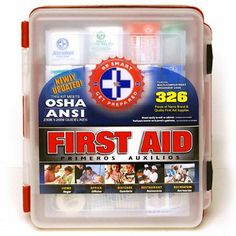 First Aid Kit - 326 pc. $20