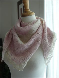 Free Pattern: Oaklet Shawl by Megan Goodacre