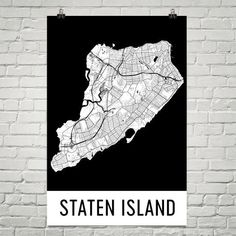 We have beautiful Staten Island map prints that feature all the roads, rivers and other features that make Staten Island iconic. Staten Island Map, Modern Art Styles, Poster Prints, Art Prints, Print Map, Beautiful Posters, Map Design, Map Art, Roads