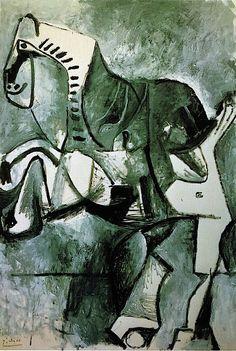Pablo Picasso - A Horse - 1964