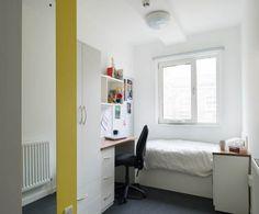 A standard room Daniel Defoe #GreenwichCampus #UniofGreenwich #Accommodation