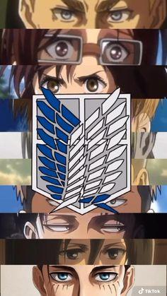 Attack On Titan Season, Attack On Titan Funny, Attack On Titan Fanart, Anime Songs, Anime Films, Otaku Anime, Anime Guys, Himawari Boruto, Aot Gifs