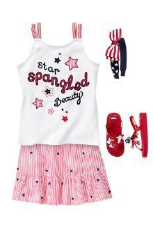 4th of July outfit - I have a tween who would wear it if I made it!