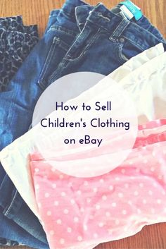 Those kids never seem to stop growing. Your children spring right out of their pricey, brand-name jeans and adorable T-shirts as fast as you can buy them. Why not make some of that money back and share those gently worn clothes with other families? Hunt through your closets and drawers for stylish, lightly used pieces and read on to discover how to sell that clothing on eBay and finance next season's shopping excursion.