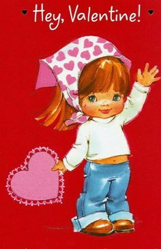 8 Best Valentine S Day Cards 70s 80s Images On Pinterest Valentine