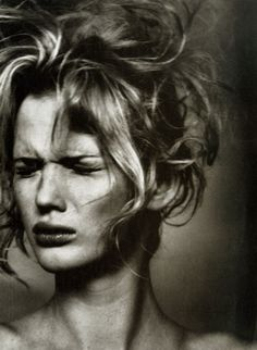 Anna Vyalitsyna photographed by Irving Penn