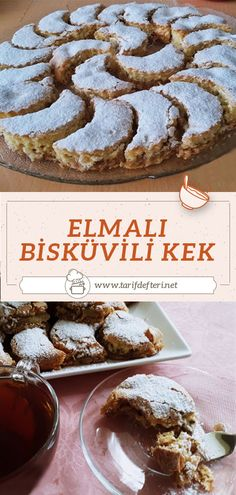 Delicious Desserts, Dessert Recipes, Good Food, Yummy Food, Turkish Recipes, No Cook Meals, Sweet Tooth, Food And Drink, Cooking Recipes
