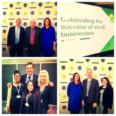 The team behind the event along with authentic lovely Roger Black & FSB Chairman, John Allan.  Pic 1: Streamline's Darren Ramsey, Sue Kirton and FSB's John Allan. Pic 2: the team catching the action on the day- Streamline's Maria Sururr, Krishna Chauhan and Smallbusinessheroes.com Hannah Stacey with the lovely Roger Black. Pic 3: the team that made it happen- Streamline's Sue Kirton PS London's Robert Pepper and Laura Eccles.