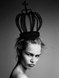 Anna Ewers by Patrick Demarchelier for Interview Magazine September 2014