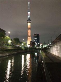 東京スカイツリー オリンピックゴールド