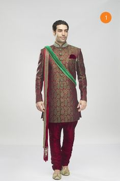 336bad9ef Indo Western Menswear  Buy Indo Western Outfits for Mens Online by  Manyavar.com