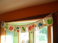 A lovely way to make a fall banner  from Remains of The Day: Welcoming Fall