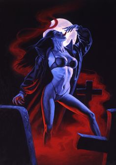Blood Lust - Photo Print, Greg Hildebrandt