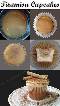 Tiramisu Cupcakes Recipe - Easy!!! For you Lissa!