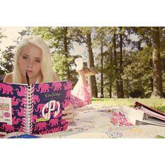#lillyagenda via @cooperjane33 | using my @Lilly Oh Pulitzer agenda to plan my senior year