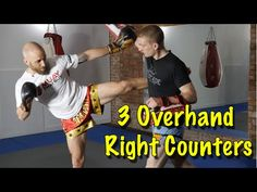 3 Muay Thai Counters to the Overhand Right | Muay Thai Guy
