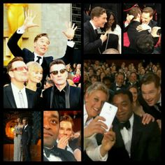 Benedict at the Oscars