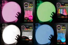 T & Serendipity: Hold Me Back! Glow in the Dark Balloons!