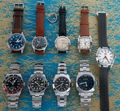 """Today's update has 3 unique vintage pieces from Patek, IWC, and Omega, plus a Cartier """"Nail"""" ring.  We have also posted modern watches from Rolex, Panerai, Tudor, IWC, and Omega.   Swing by our website BernardWatch.com for photos and pricing. Cartier Nail Ring, Popular Watches, Modern Watches, Iwc, Mechanical Watch, Whats New, Tudor, Unique Vintage, Omega"""