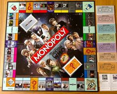 Doctor who 50th anniversary special monopoly! Christmas present please!!!!