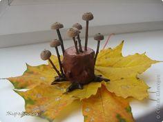 Поделка, изделие, Раннее развитие Моделирование: Позовите грибника... Материал природный Праздник осени. Фото 1