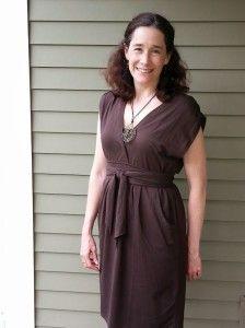 Matilda dress in Coffee from Synergy Organic Clothing  #organic #fashion #spottedinsynergy  via @MindfulMomma