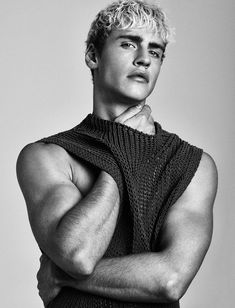 Oliver Strumvoll at Wiener Models photographed by Kosmas Pavlos and styled by…