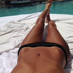 Me when I was 19yo. and lost the last of my late puberty weight. Only my tummy, believe it or not, was a wee bit flatter. I was concerned cause you could see down my bikini bottoms, since my hip bones held the material away from my tummy when I laid down. Yep, that would have been me tanned skin and all. And oddly…back then...I thought I was fat!!!