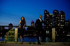 Chic E-Session in the City by Joshua Dwain Photography: Nkechi and Curtis - Munaluchi Bridal Magazine