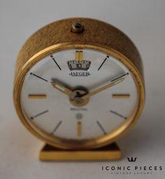 #jaeger #jaegerlecoultre #recital #memovox #clocks #vintage #iconicpieces